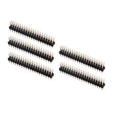 5PC Break-away 2x20-pin Strip Double Male Connector Dor Raspberry Pi GPIO Zero