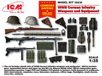 ICM 35638 - 1/35 German Infantry Weapons and Equipment, WWII, plastic model kit