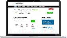 Reseller hosting, domain and websitebuilders