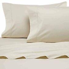 Heartland Homegrown 400 Tc Percale Sheet Set - Ivory - Size: Full