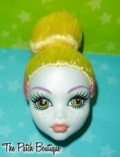 MONSTER HIGH LAGOONA BLUE FANGTASTIC FITNESS DOLL HEAD ONLY FOR REPLACEMENT OOAK