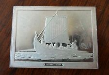 Franklin Mint Great Sailing Ships of History Sterling Ingot Oseberg Ship