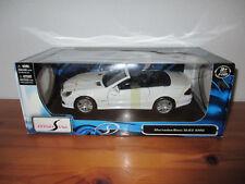 ( Go) 1:18 Maisto Mercedes Benz SL 63 AMG nuevo emb. orig.