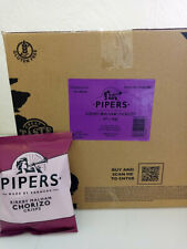 Pipers Kirkby Malham Chorizo Cheese Crisps - Box of 40 x 40g Packets - big box