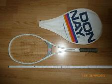 Tennisschläger von Donnay aus Belgien mit Schutzhülle