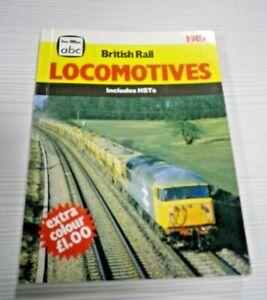 BRITISH RAIL LOCOMOTIVES Includes HSTs 1987 Ian Allan abc Unmarked