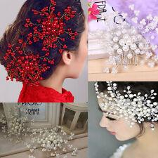 Damen Braut Hochzeit Blume Haarkamm Diademe Haarschmuck Haarstecker Haarnadeln