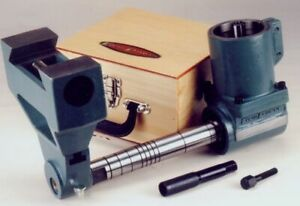 Horizontal Milling Attachment R8 w/ Support (55° dovetail) & Arbor