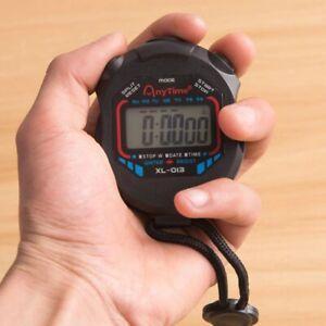 Kitchen Timer Egg Boil Timer Digital Handheld Jogging Sports Stopwatch Timer