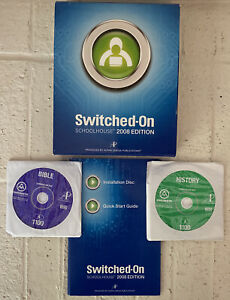 Switched-On Schoolhouse - History and Bible (Both Double Disc), w/ Install Disc