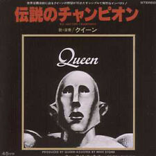 CD Single QUEEN We are the champions + JAPAN + 2-track CARD SLEEVE