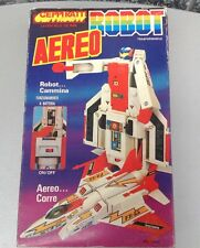 Vintage 80S Transformers Clone Aerobot  Aereo Robot Battery Operated #Ceppiratti