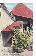 Switzerland Postcard - Courtyard - Chillon Castle   SL760