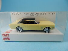 BUSCH 47524 FORD MUSTANG SOFTTOP GELB 1:87