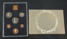 1976 Royal Mint UK Proof 6-Coin Year Set includes proof only large 5p & 50p