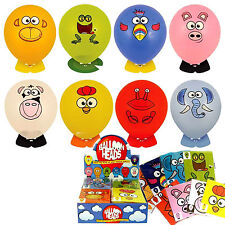 8 x BALLOON HEAD ANIMALS BOY GIRL TOY PINATA GIFT BIRTHDAY PARTY BAG FILLERS