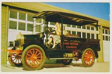 Road Transport postcard - 1916 Vim Stage (A14)