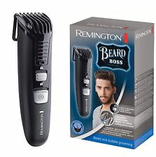 Remington MB4120 Beard Boss Men's Steel Blades Cordless Precision Beard Trimmer
