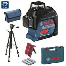 BOSCH Linienlaser Baulaser GLL 3-80 + Stativ BT150 im Koffer 3 x 360° Linien