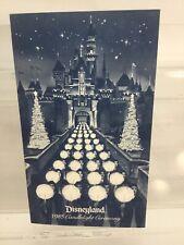 Vintage 1985 Disneyland Christmas Candlelight Ceremony Program w/ Prayer