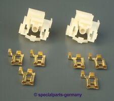 2x H4 Fassung Stecker Sockel Bulb Socket Licht Plug Umrüsten von Bilux auf H4