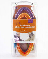 Authentic Knitting Board His and Her Sock Looms Purple/orange