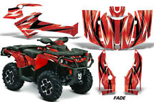 CanAm Outlander 1000 SST G2 ATV Graphics Sticker Kits Decals 2012-2016 FADE RED