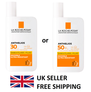 LA ROCHE-POSAY Anthelios SPF 30 or SPF 50 Invisible Fluid - Brand New Boxed