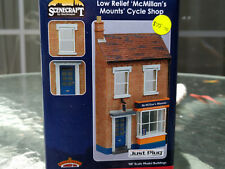 Bachmann Scenecraft Low Relief McMillan's Mounts Cycle Shop 44-283