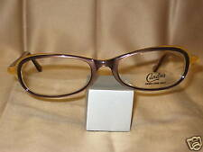 Candies Eyeglasses Mink brown Oval Cat Retro Vintage