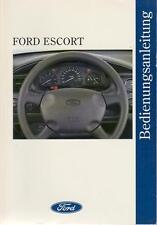 FORD ESCORT Betriebsanleitung 1996 Bedienungsanleitung Handbuch Bordbuch MK7  BA