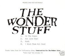 THE WONDER STUFF - Idiot 2 EP (UK 4 Track DJ CD Single)