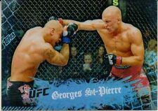Georges St-Pierre 2010 Topps Main Event UFC Card #100 GSP Champion 65 79 94 124