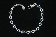 "Charm Bracelet, 8"" Free Shipping ! Brand New Brighton silver Distinctive starter"