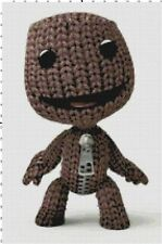 Little Big Planet Game Sackboy Cross-Stitch Pattern