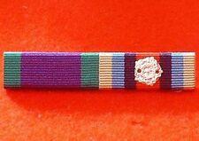 Northern Ireland & OP Herrick OSM Afghanistan Ribbon Bar Pin NI Medal Ribbon Pin
