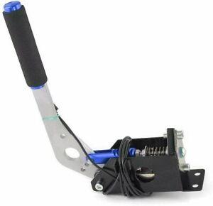 For Logitech Racing Game G25/G27/G29 T500 T300RS PC USB SIM Handbrake+Clamp Blue