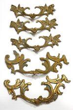 Lot de 5 POIGNÉES Anciennes en Bronze pour Meuble XIXe Bronzes d'Ameublement #2