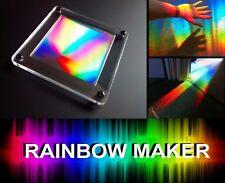 SUN CATCHER IN DISPLAY CASE! Special Needs,Autism,Sensory Room,Rainbow Maker