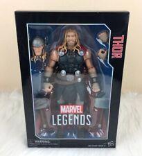 "Marvel Legends Avengers 12"" Thor w/ Helmet Hammers & Cape Toy Action Figure"