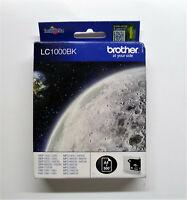 Original Brother LC1000BK LC1000 BK schwarz DCP-540CN DCP-560CN DCP-680CN 750CW