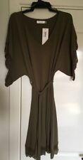 Polyester Solid Dresses Kaftan