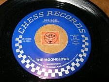 THE MOONGLOWS - SEE SAW - MOST OF ALL (REPRO)  / LISTEN - DOO WOP