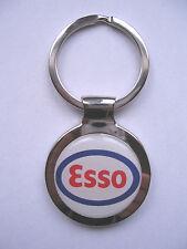 Esso Gas Key Chain, Esso Gasoline Logo Keychain, Esso Gas Souvenir Keychain