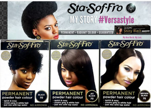 STA SOF FRO HAIR DYE POWDER AND CREAM PERMANENT HAIR COLOURS-FREE UK POST!!!!