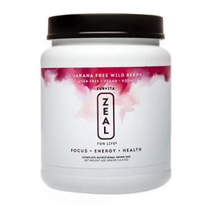 Zurvita Zeal for Life 30 Day Wellness Canister, 420 Grams, Wild Berry Guarana