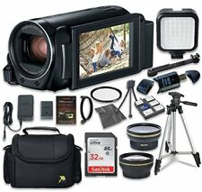 Canon VIXIA HF R800 Camcorder with Sandisk 32 GB SD Card + Accessory Bundle