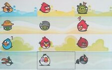 36 Iron on Angry Bird Personalised Name Labels (30mm x 13mm)
