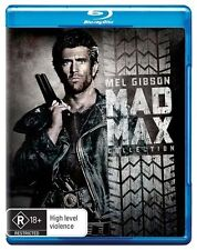 Mad Max Trilogy Mad Max, Mad Max 2 & Mad Max Beyond the Thunderdome blu ray RB