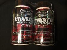 Hydroxycut Hardcore Elite Super Thermogenic Fat Burn Weight Loss 200 Caps 2 Pack